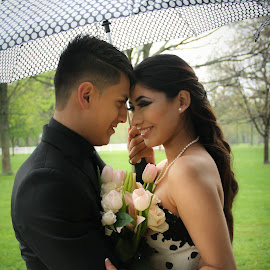 Wet Prom by Angie Kanak - People Couples