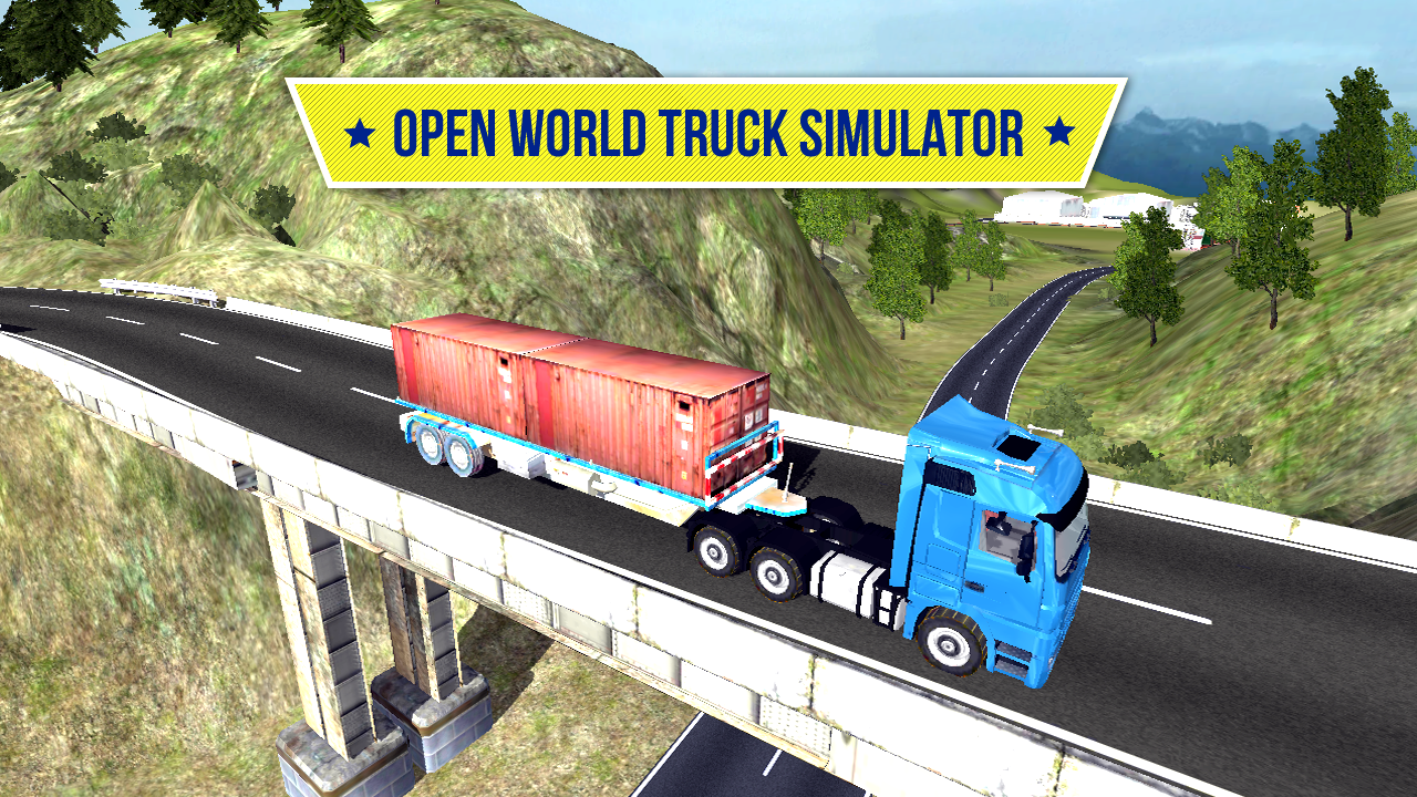 Big Truck Hero - Truck Driver Screenshot 0
