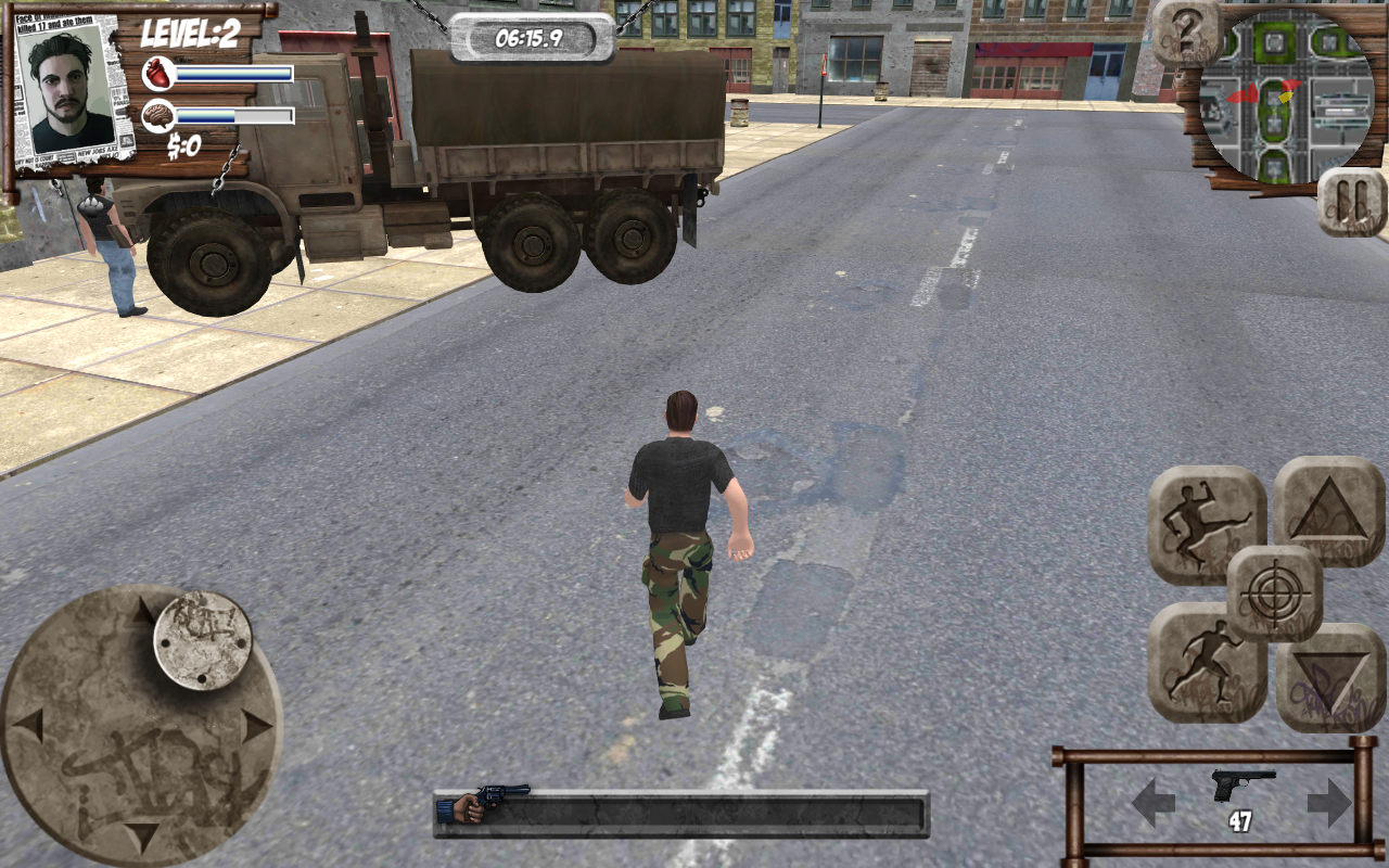 Russian Crime Truck Theft Screenshot