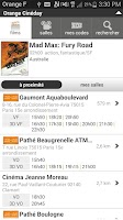 Screenshot of Orange Cineday