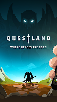 Questland: Turn Based RPG APK screenshot thumbnail 1