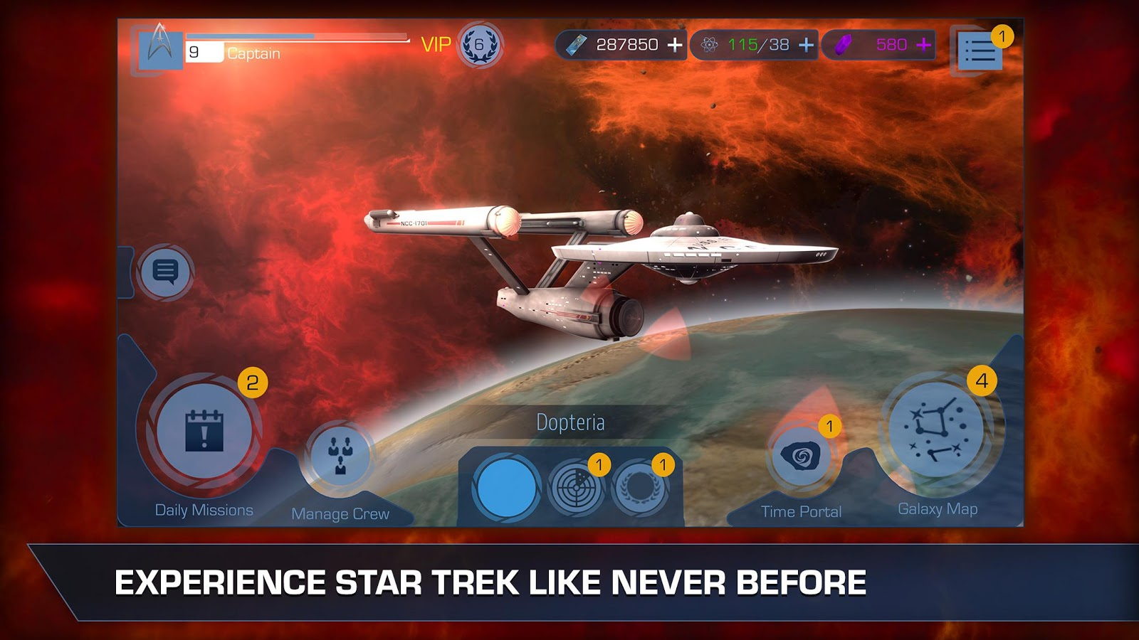 Star Trek Timelines Screenshot 0