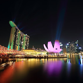 Marina Bay by Harry Cahyono - City,  Street & Park  City Parks
