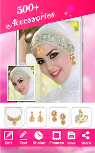 Hijab Wedding Photo Montage - screenshot