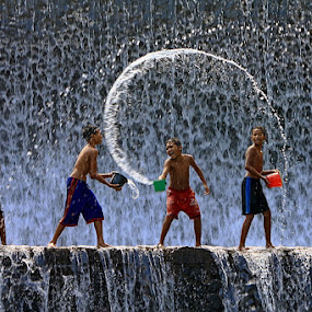 Happy Time by Agoes Antara - Babies & Children Children Candids