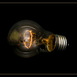 And, let there be light by Petr Germanič - Artistic Objects Other Objects ( edison, old, bulb, light, 60w )