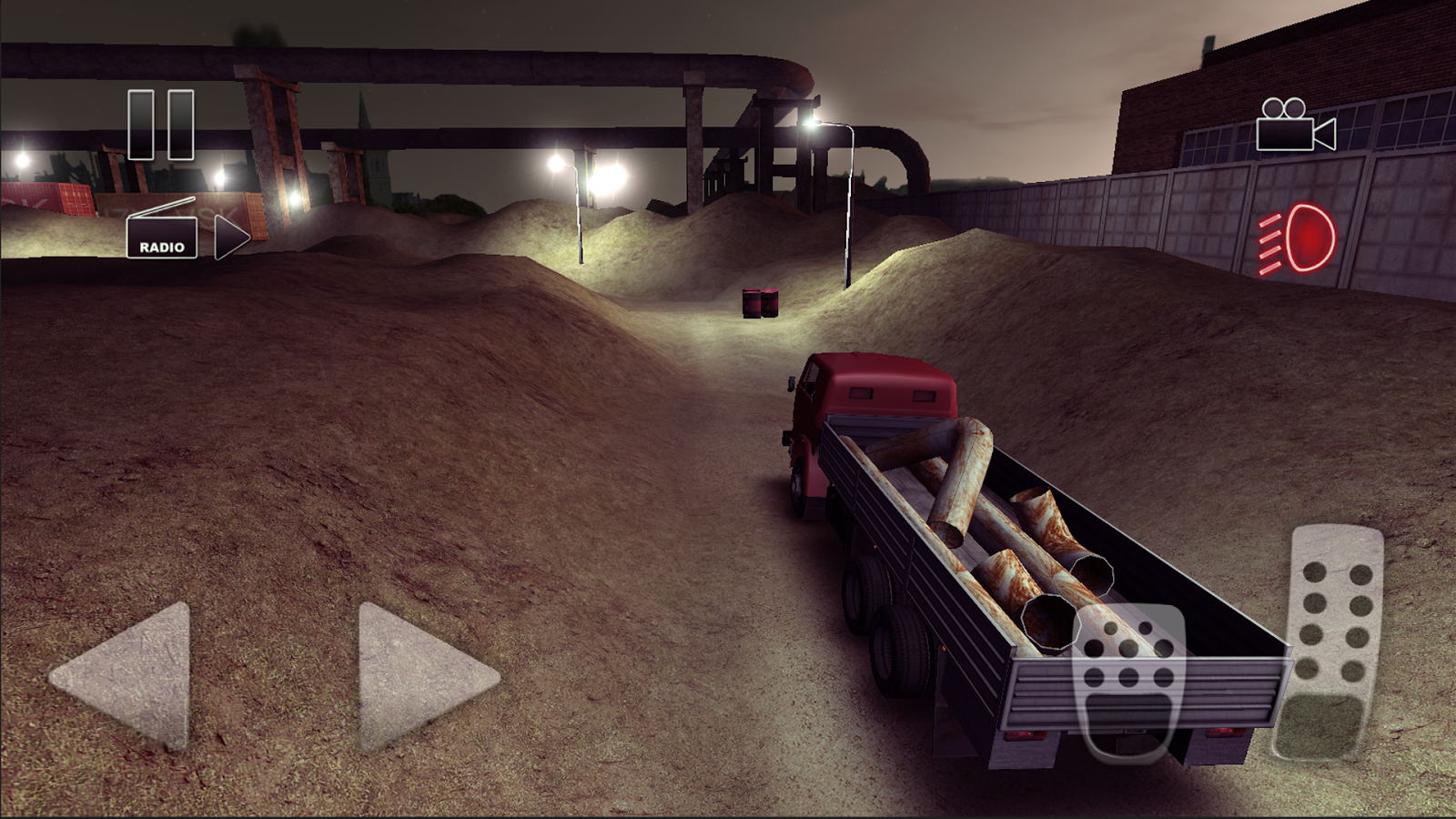Truck Driver crazy road Screenshot 1
