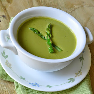 Cream Of Asparagus And Spinach Soup