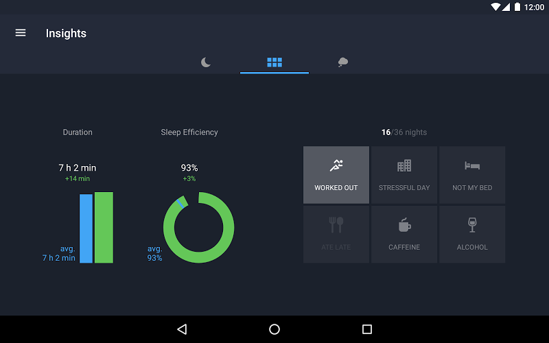 Runtastic Sleep Better: Sleep Cycle & Smart Alarm Screenshot 19