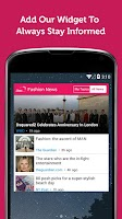 Screenshot of Fashion Magazine - Newsfusion