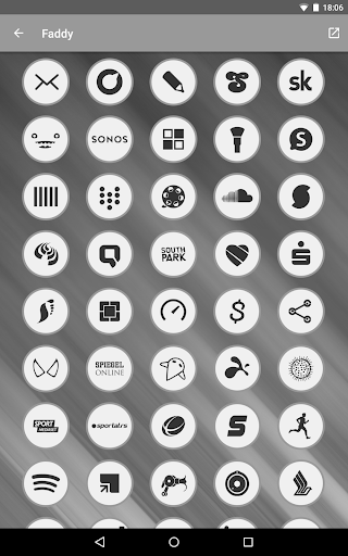 Faddy - Icon Pack - screenshot