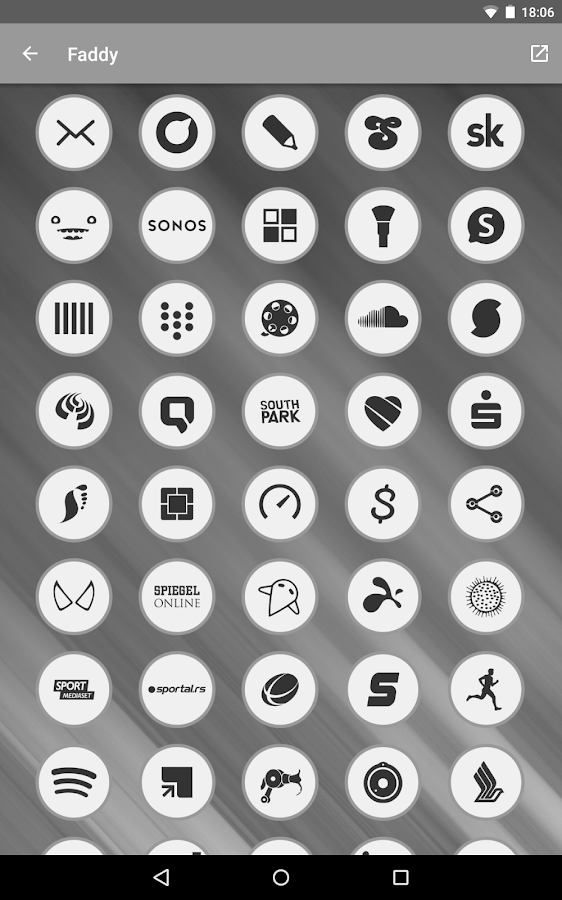 Faddy - Icon Pack Screenshot 13