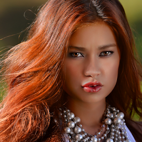 Pout by Ferdinand Ludo - People Portraits of Women ( filipina and german, ass2015, lovely lady, swimsuit photo contest,  )