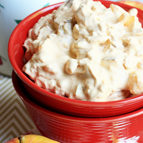 Apple Butterscotch Fluff Salad