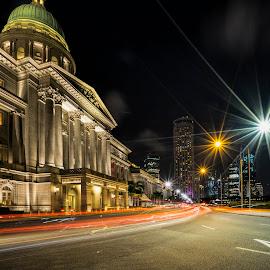 by Gordon Koh - City,  Street & Park  Street Scenes