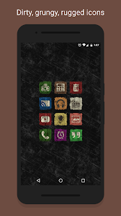 Ruggy - Icon Pack- screenshot thumbnail