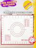 миниатюра Силиконовый рецептурный термостойкий кулинарный коврик 28*26 для раскатки и выпечки теста Like, Kitchen, Bakery