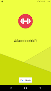mobileFit - screenshot