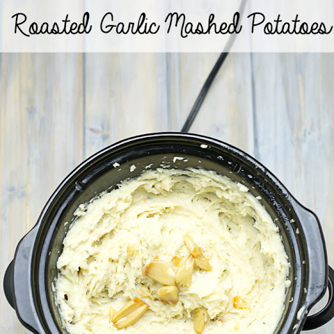 Crock Pot Garlic Mashed Potatoes