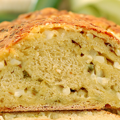 Jalapeno Sourdough Corn Bread