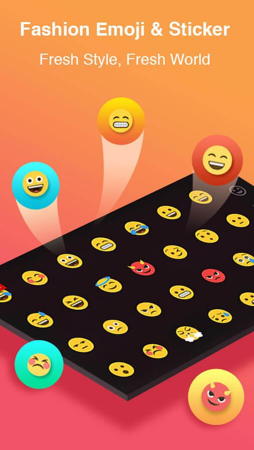 TouchPal Keyboard - Cute Emoji Screenshot 2