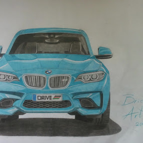 BMW drawing by Reagan Muriuki - Drawing All Drawing ( automobile, cars, art, bmw, motorsport, artwork )