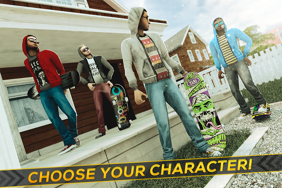 True Skateboarding Ride Screenshot 3