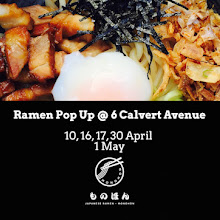 Ramen Pop up in Shoreditch