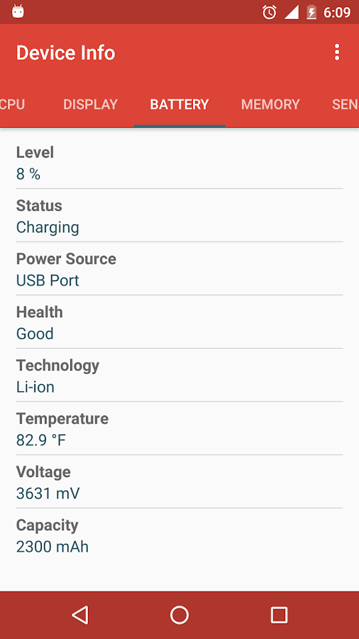 Device Info Screenshot 5