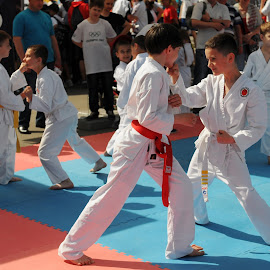 Karate Kids  by Natalia Donets - Sports & Fitness Other Sports ( olympics, sports, kids, martial arts, karate )