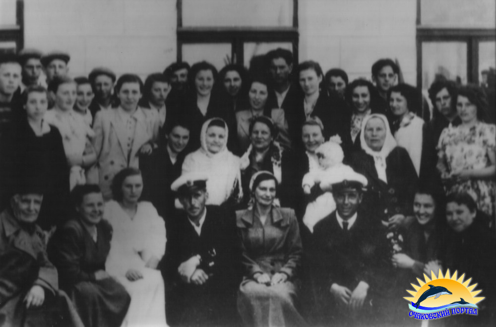 Работники Очаковского рыбзавода. Фото 30-х гг.