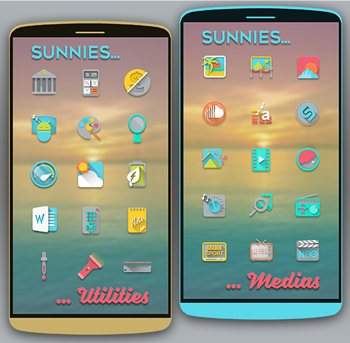 Sunnies Icon pack Screenshot 2