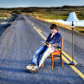 Reading Road by Gavin Seim - People High School Seniors