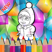 Free Download Learn Coloring Masha For Kids APK for Samsung