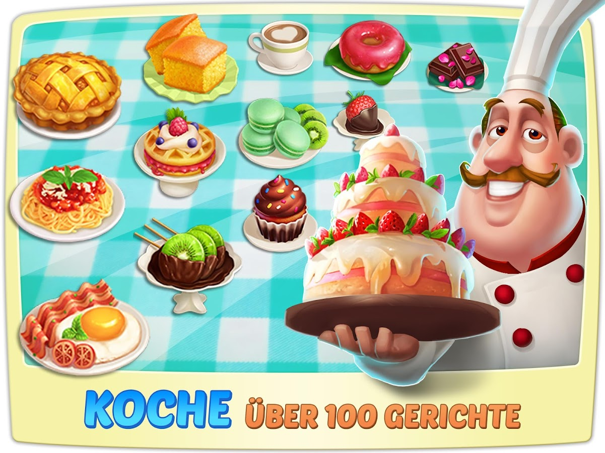 Kochland - Design Cafe android spiele download