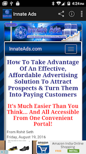 Innate Ads - screenshot