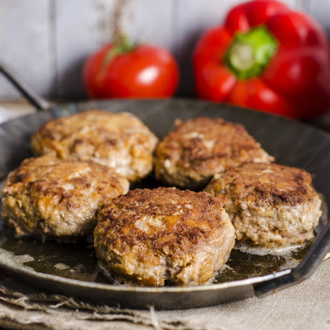 Sundried Tomato and Turkey Burgers with Avocado Cream