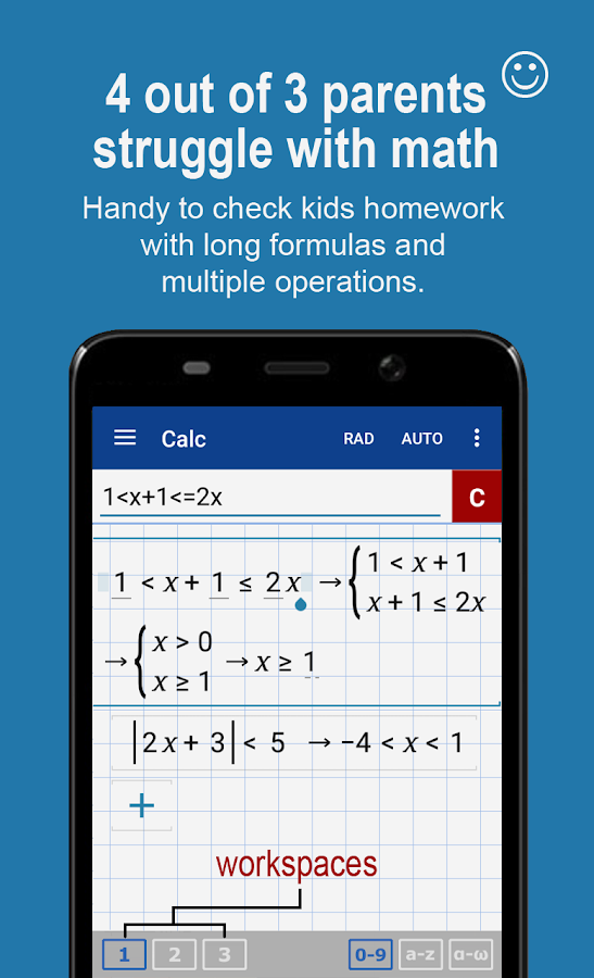Graphing Calculator + Math PRO Screenshot 1