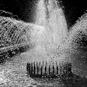 *** by Adriana Petcu - City,  Street & Park  Fountains ( water, park, fountain, drops, light, city )