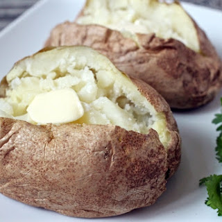 10-minute Baked Potatoes