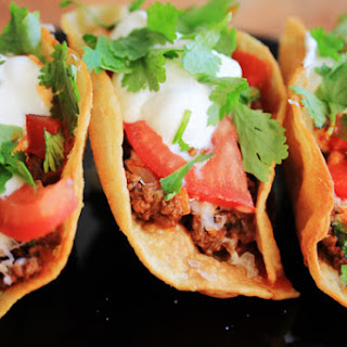 Homemade Tex-Mex Beef Tacos