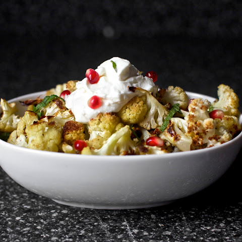 Cumin Seed Roasted Cauliflower With Yogurt