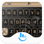 HUAWEI Gold P10 Keyboard Theme Icon