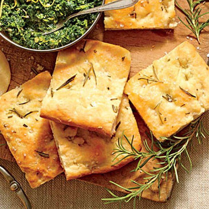 Focaccia Bread With Rosemary Recipes — Dishmaps