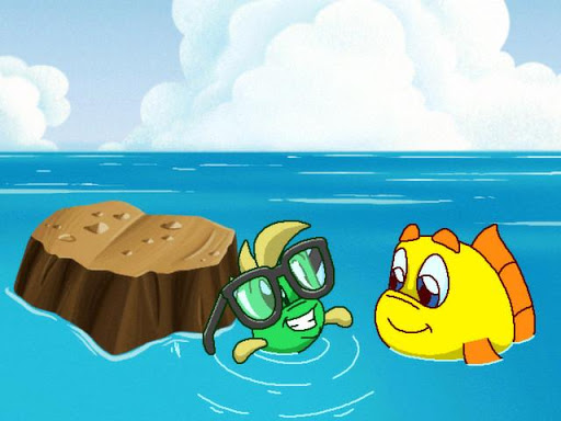 Freddi Fish: Coral Cove - screenshot