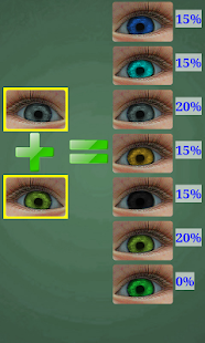 Predictor of Baby Eye Color - screenshot
