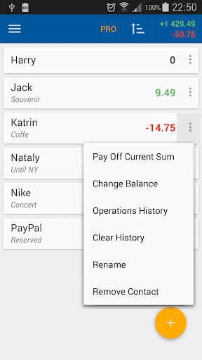 Loans & Debts: Notepad - screenshot