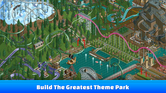 RollerCoaster Tycoon® Classic 1.0.3.1701030 (Retail & Mod) Apk + Data