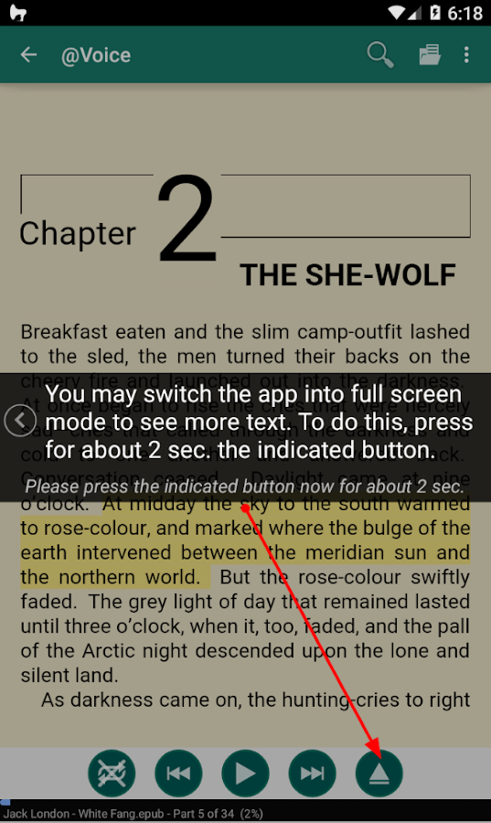 @Voice Aloud Reader Screenshot 2