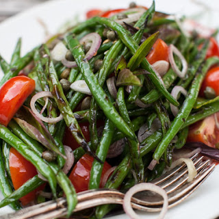Grilled Green Salad